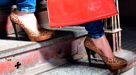 """Zapatos Stilettos,  """"Entrénate"""""""